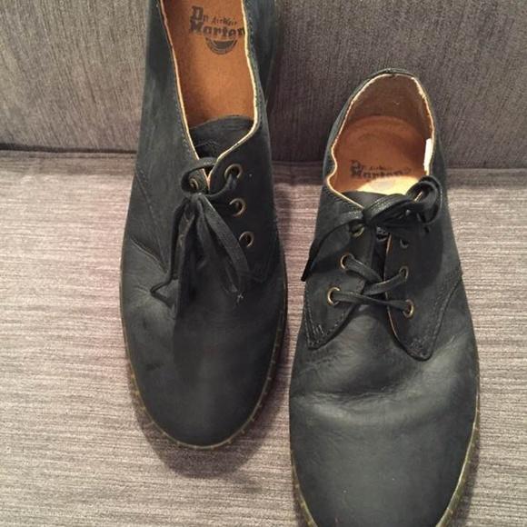 Doc Marten Size Black Coronado Lace Ups